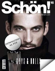 Image of Schön! 16 - David Gandy / eBook download