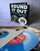 Image of SOUND IT OUT DVD - ultra limited edition 7″ gatefold with 4 track baby blue vinyl EP