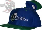 Image of Dallas Mavericks Two Tone Bl./Gr. Snapback Hat Cap