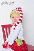 Image of Christmas Stocking Elf Beanie
