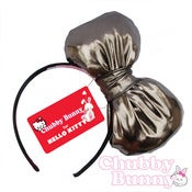 Image of Hello Kitty Bow (Gunmetal Grey)