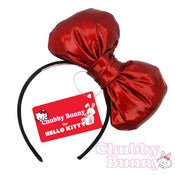 Image of Hello Kitty Bow (Cracked Candy Apple Red)