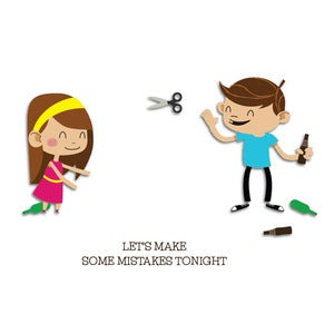 Image of Relationships: Mistakes Tonight Card