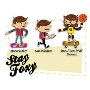 Image of Thank You: Stay Foxy Card