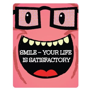 Image of Sympathy: Smile Card