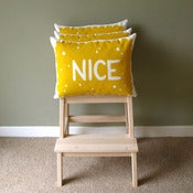 Image of Nice Biscuit Screen Printed Cushion