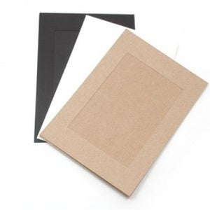 Image of Paper photo frame 30set - 4x6