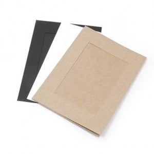 Image of Paper photo frame 30set - 3x5