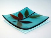 Image of Warm Petals Aqua Bowl (small/medium/large)