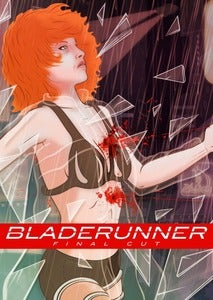 Image of Blade Runner print by Domanic Li