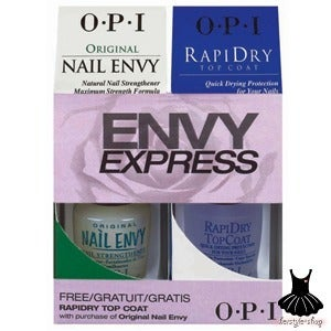 Image of OPI - ENVY EXPRESS, Buy Nail Envy Original, Get RapiDry Topcoat FREE