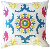 Image of Pink Sparrow Morro Pillow