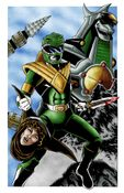 Image of GREEN POWER RANGER