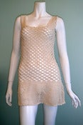 Image of Vanilla Crochet Dress