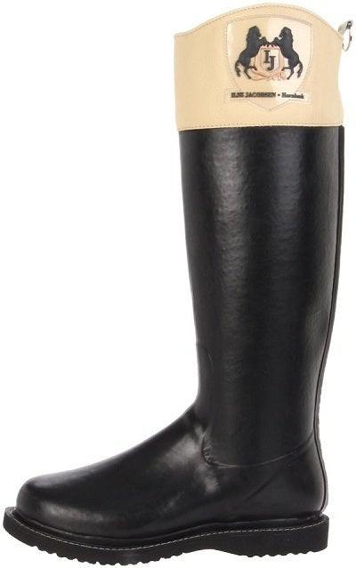 Image of Ilse Jacobsen Rubber Riding Boots - Black