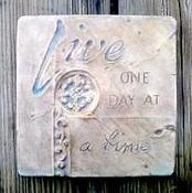 Image of New Craft Product - Live One Day at a Time