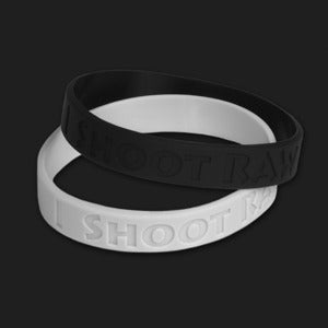 Image of I Shoot RAW Wristband (Irregular)