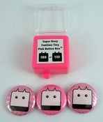 Image of Super Boxy Funtime Tiny Pink Button Box