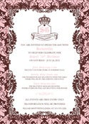 Image of Vintage Juicy Couture Invitation