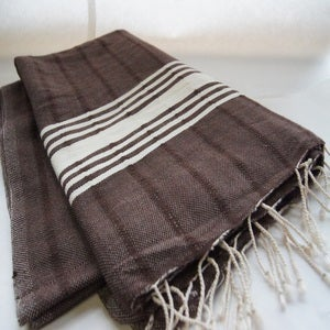Image of Beloved Brown Throw/Blanket