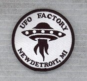 "Image of UFO FACTORY PATCH ""OFFICIAL"" sold-out!"