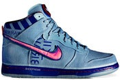 Image of Nike Dunk High Premium QS Galaxy Blue Grey