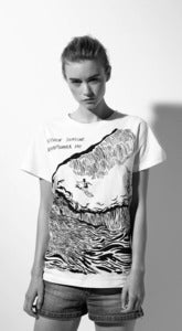 "Image of SS2012: T-shirt ""WAVE""."