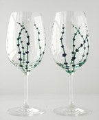 Image of Lavender Wine Glasses-Set of 2