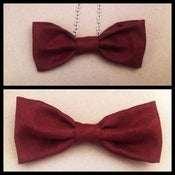 Image of Red Velvet Bow (also available as an easy clip-on bow tie)
