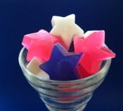 Image of Pixie Dust star guest soaps or party favors soaps in a jar