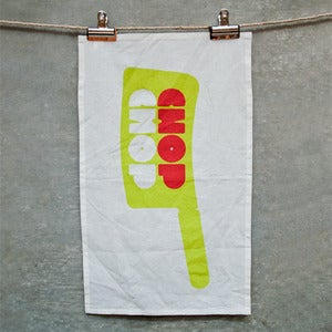 Image of Chop Chop Tea Towel