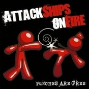 "Image of Attack Ships On Fire ""Punches Are Free"" CD"