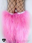 Image of Glitter fluffies uv baby pink