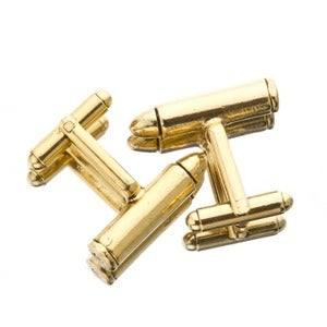 Image of BULLET CUFFLINKS