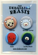 Image of The Debatable Beasts Pin Pack