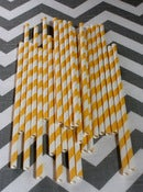 Image of Yellow Sugar Diva Straws