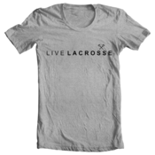 Image of Live Lacrosse - Gray