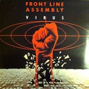 Image of FRONT LINE ASSEMBLY-Virus 12&quot; Vinyl/Out Of Print-Rare