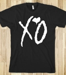 Image of XO Signature Tee-(Black/White)
