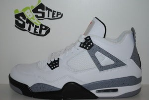 "Image of Air Jordan IV ""White Cement"" 2012 Retro"