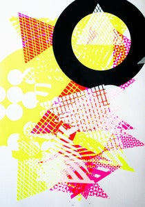 Image of Abstract 2 silkscreen poster