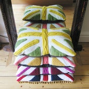 Image of Melanie Porter: Knitted cushion - Percy