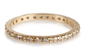 Image of Kara Ackerman <i>Talulah <i/> Eternity Stacking Ring in Yellow