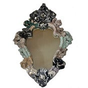Image of Heidi Awford: Rocco Mirror Grey