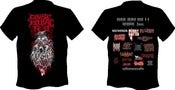 Image of COYOTE BRUTAL FEST-6 Logo T-shirt