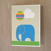 Image of Elephant + Balloon