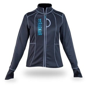 Image of Women&amp;#x27;s Ragnar Fitted Performance Jacket- Turquoise