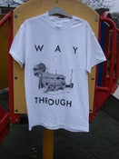 "Image of WAY THROUGH - ""Shoreham Revisited"" T-Shirt + Zine"