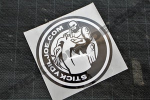 Image of ROBOCOPxUNICORN Stickydiljoe.com Vinyl Die-cut Decal