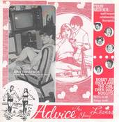 "Image of Bobby Joe Ebola/Your Mother ""Advice For Young Lovers"" Split Vinyl 7"""